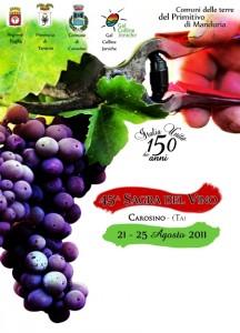 sagra del vino 2011 carosino