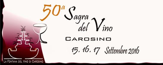 50a Sagra del Vino Carosino