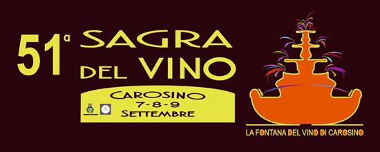 51a Sagra del Vino Carosino